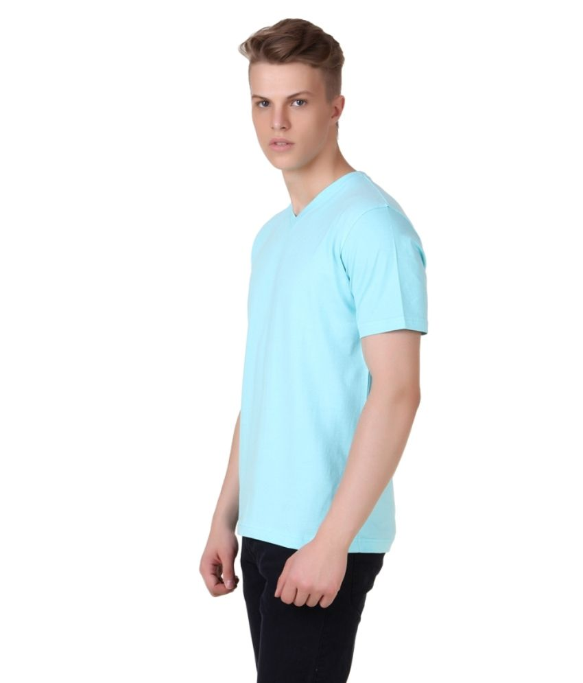 City Fashion Round Blue T-shirt