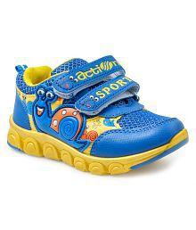 Action Shoes Blue Kids Sport Shoes