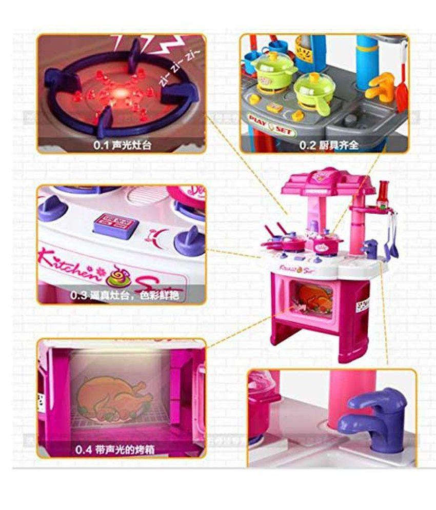 Kids Play Pretend Kitchen Set - Buy Kids Play Pretend Kitchen Set ...