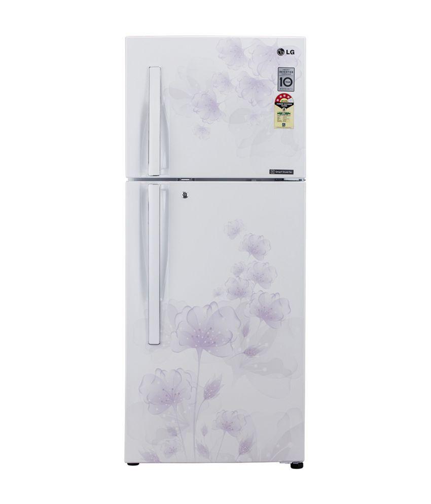 LG 310 LTR 3 Star GL-D322JPFL Frost Free  Refrigerator - Pearl Florid