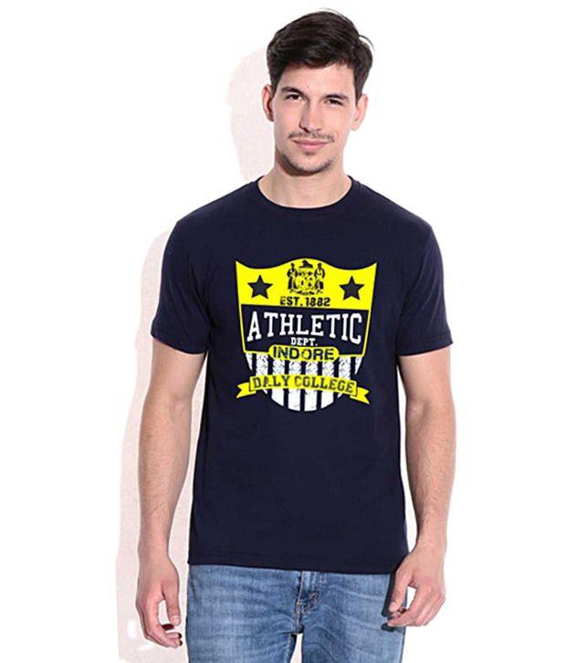 Athletic Dalian Navy Blue CampusMall T-Shirt