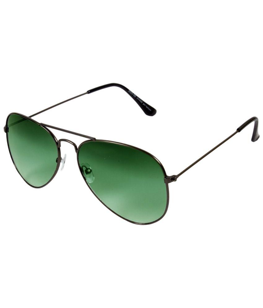 FEDRIGO Green Aviator  Sunglass