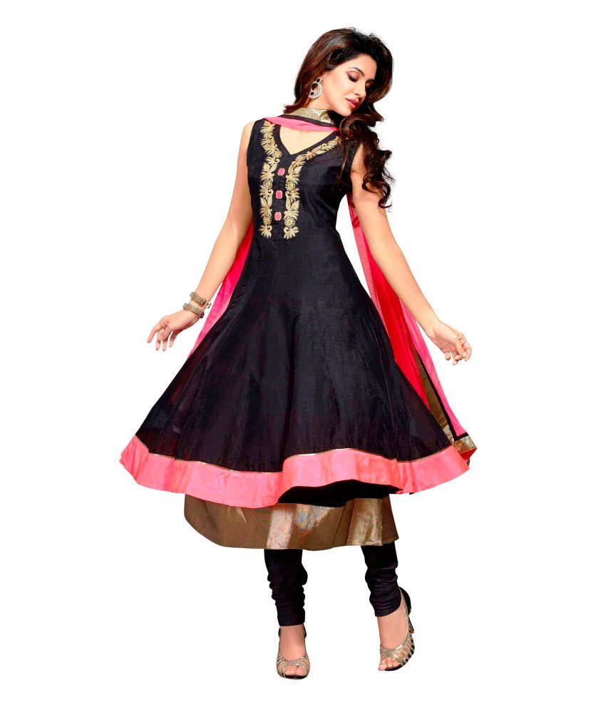 Payal Black Anarkali Salwar Suit
