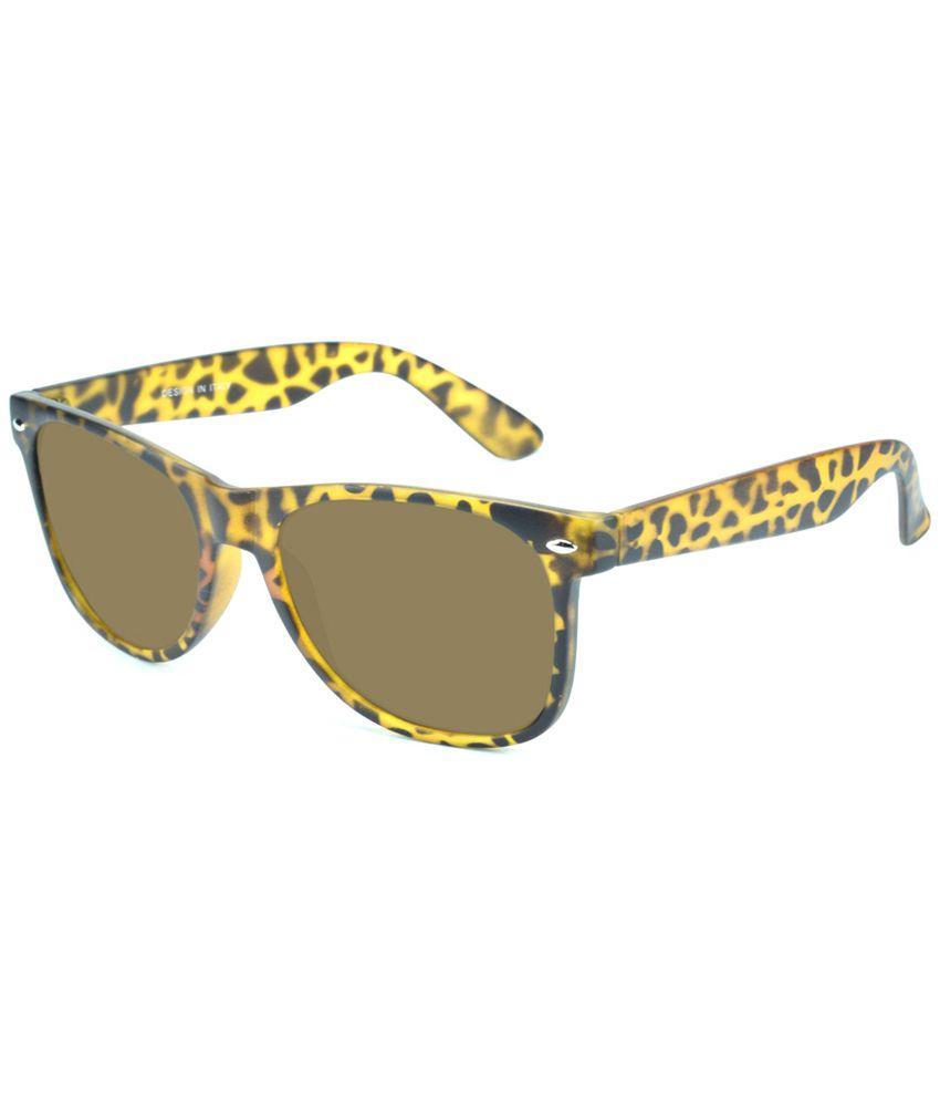 Del Impex - Brown Square Sunglasses ( Square_rd_brown_chi )