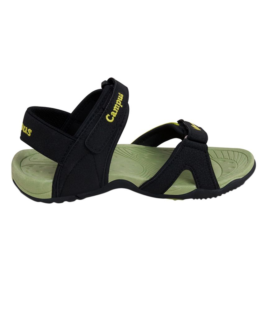 free shipping eastbay clearance ebay Campus Black Synthetic Leather Daily Wear Sandals really cheap price clearance fake outlet factory outlet nJuEVA56Hq