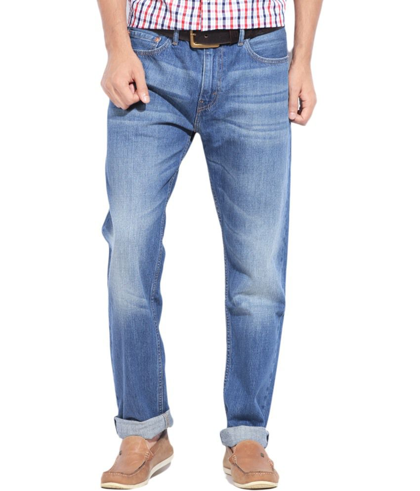 Levi's Cotton Faded Jeans