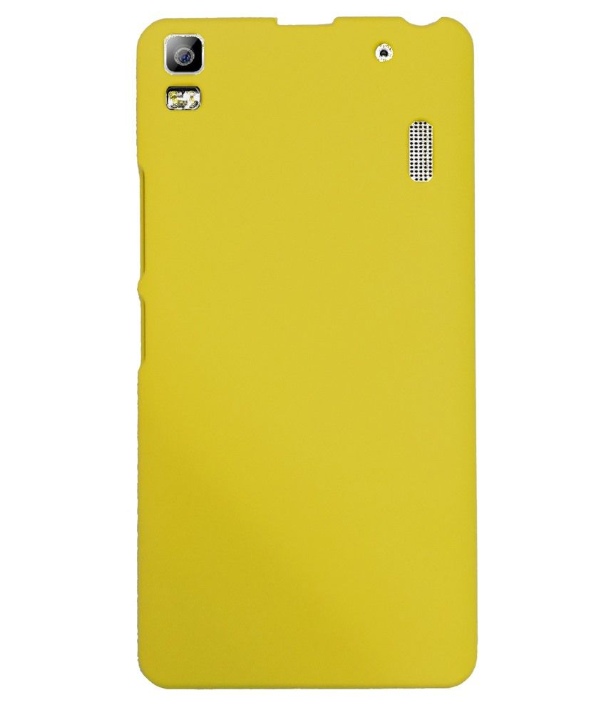 super popular 3b198 d35d5 Lenovo A7000 Printed Covers by N2S - Yellow