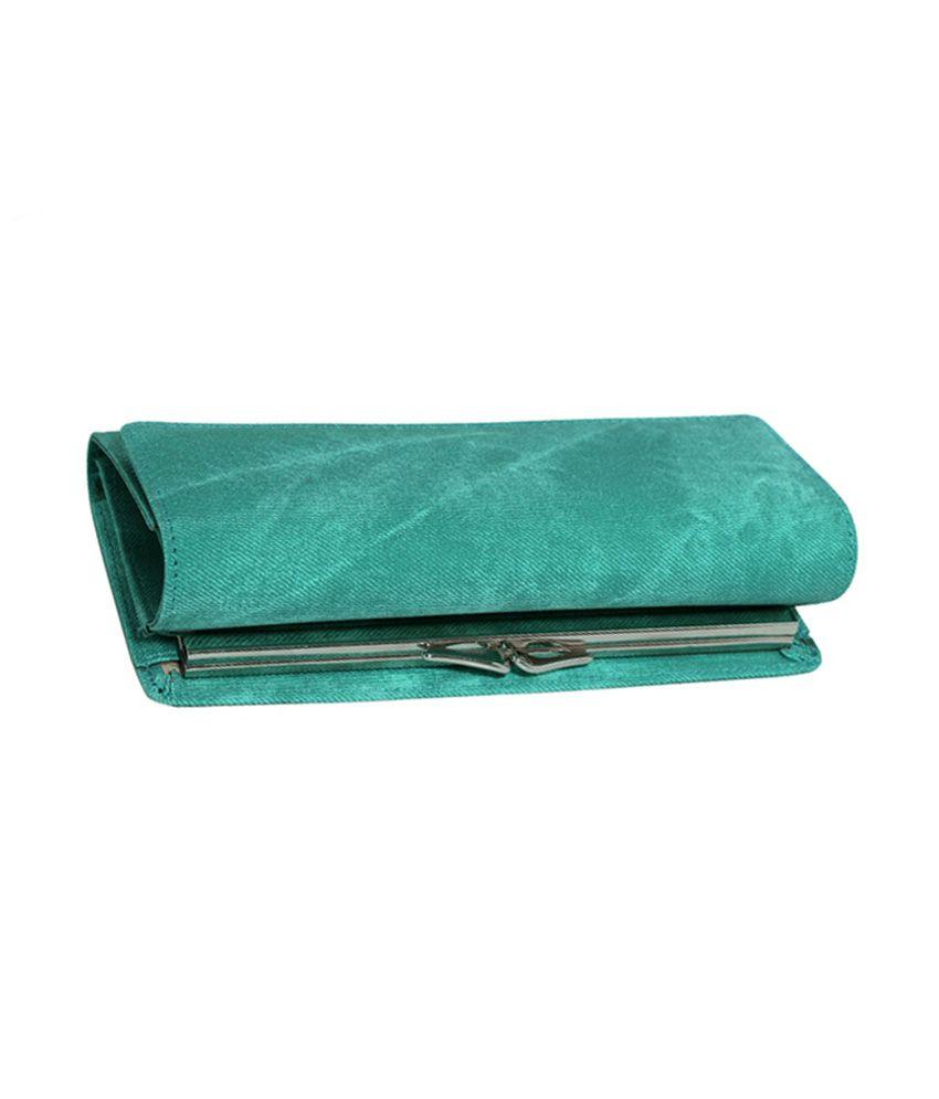 Essart Women Clutch Green
