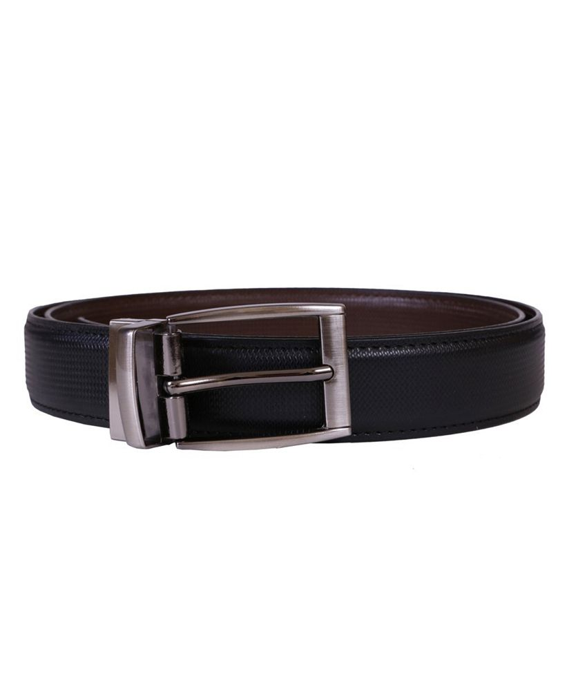 Lee Italian Brown Leather Pin Buckle Casual Belt