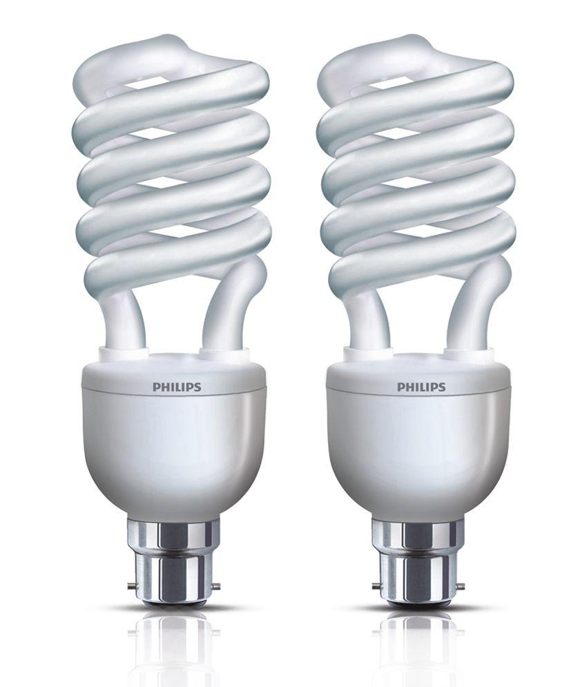 Philips Cfl Pack Of 4 Tornado Spiral Bulbs 5 Watt Buy