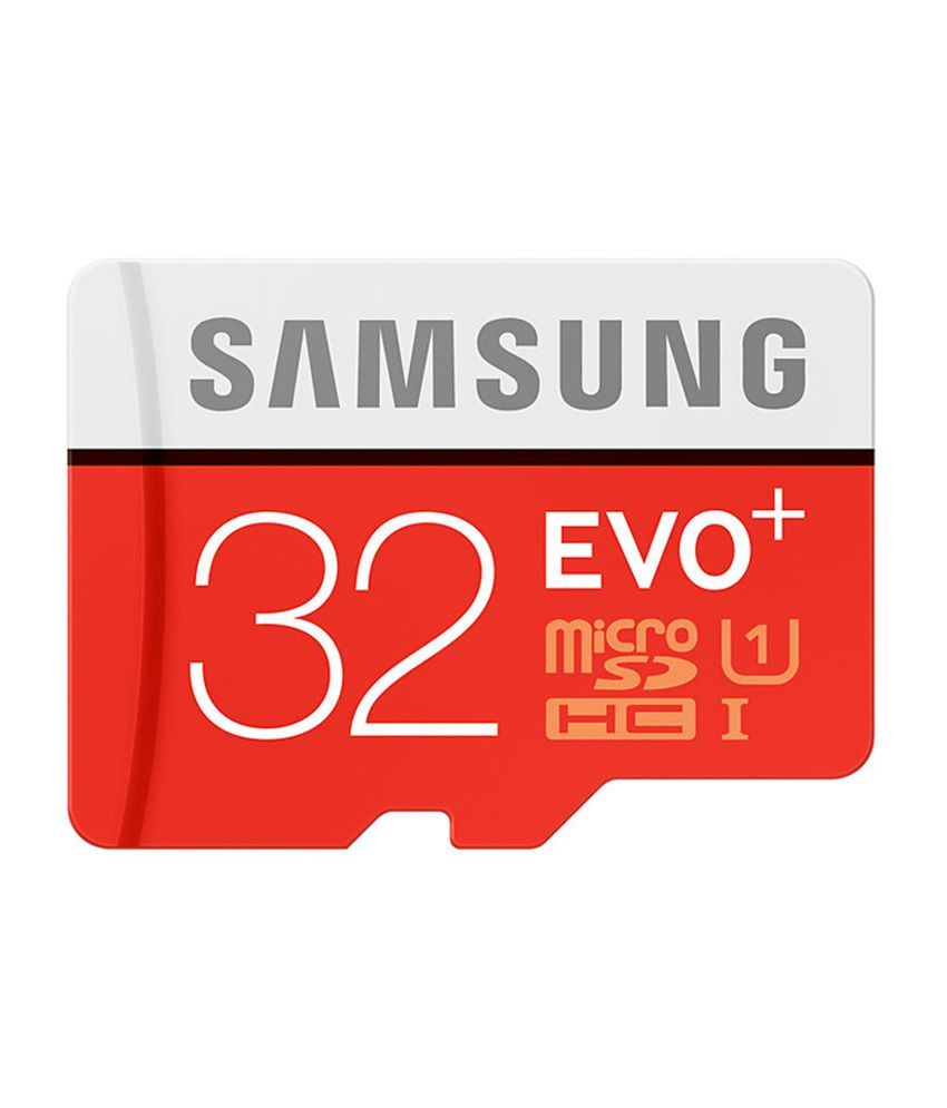 Samsung EVO Plus Class 10 UHS-1 32GB MicroSDXC 95MB/S Memory Card with SD Adapter