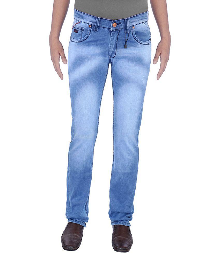 Urban Navy Strech Light Blue Jeans