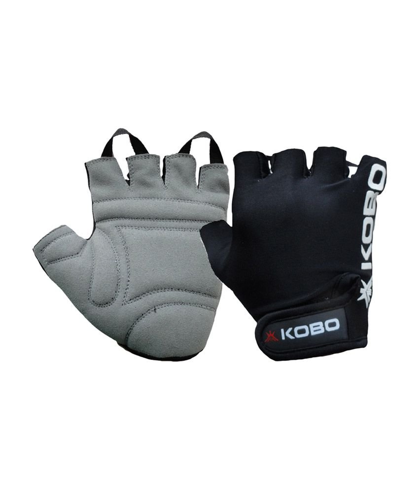 Workout Gloves Size Chart: KOBO Fitness Gloves / Weight Lifting Gloves / Gym Gloves
