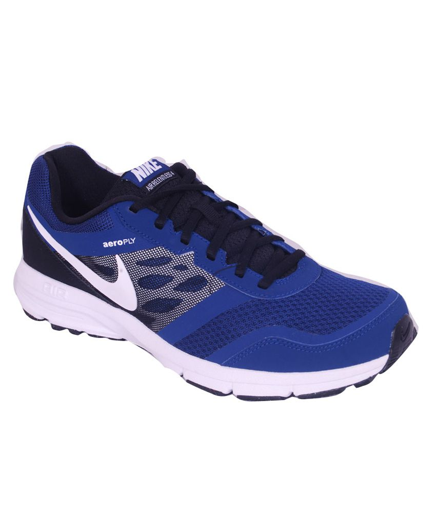 Nike Air Relentless 4 Msl Blue Running Shoes ...