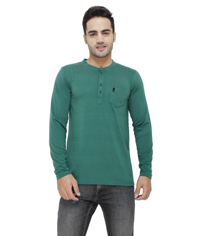 Eprilla Green Cotton T-shirt