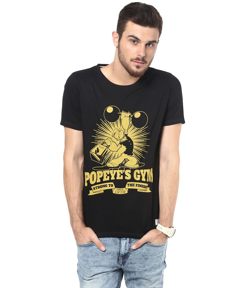 hot-selling latest quite nice highly praised Henry And Smith Popeye 's Gym Printed T-shirt