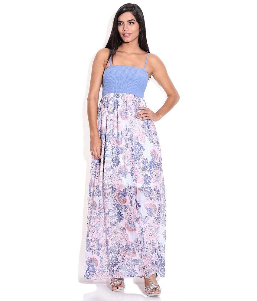 Polyester Maxi Dress