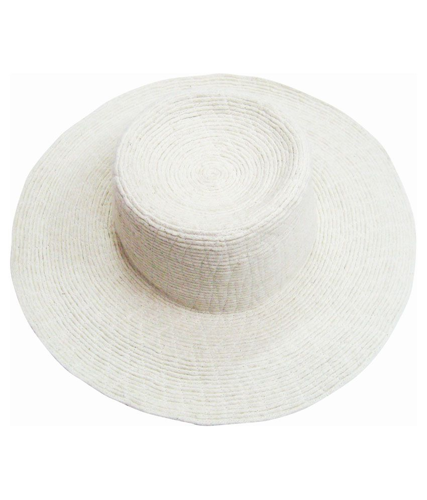 690eaa4da94 Juhi Malhotra Handmade White Hat  Buy Online at Low Price in India -  Snapdeal