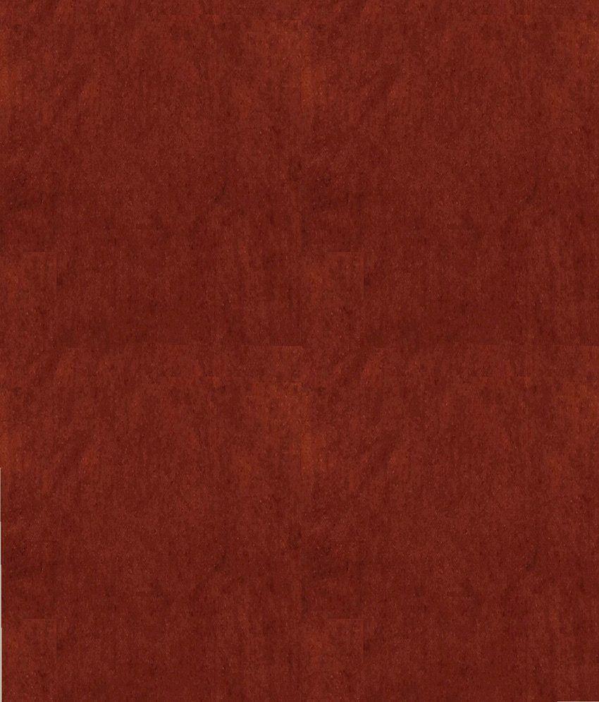 Presto Brown Colour Solid Velvet Window Curtain Solid