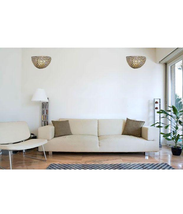 inspiration world modern home decor crystal wall lamp fancy wall rh snapdeal com