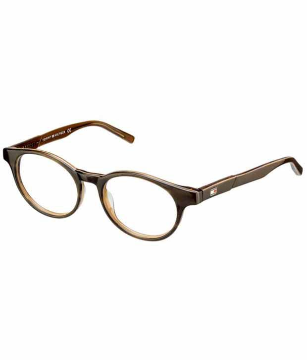 0c568893329 Tommy Hilfiger Brown Non Metal Round Eye Glasses - Buy Tommy Hilfiger Brown Non  Metal Round Eye Glasses Online at Low Price - Snapdeal