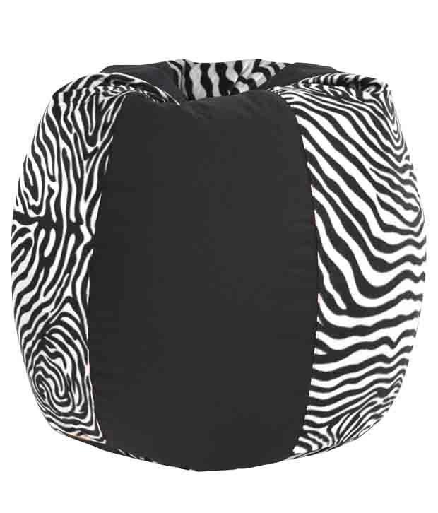 Peachy Dolphin Xxl Fabric Bean Bag Cover Black Zebra Print Pdpeps Interior Chair Design Pdpepsorg