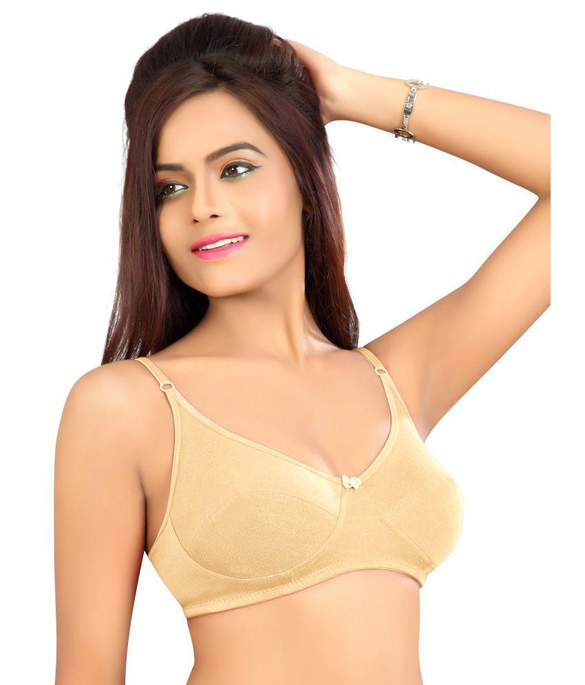 Alisha Women's Regular Bra - Mariya Skin 30B