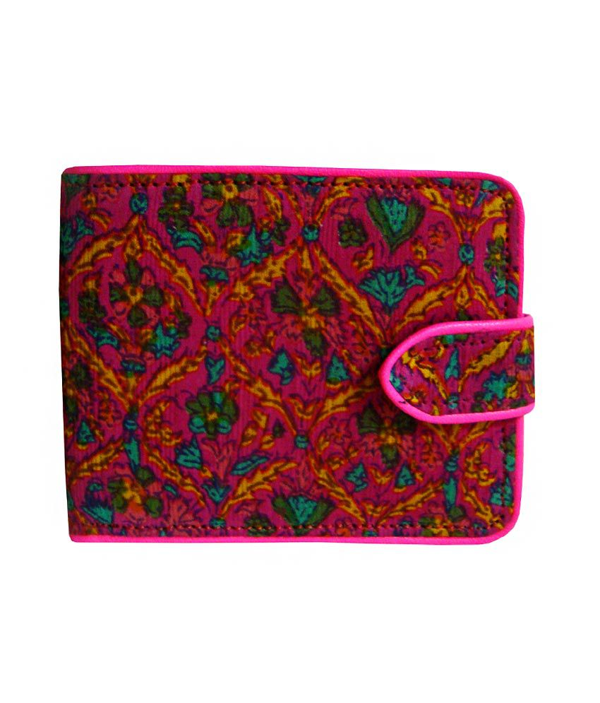 DA by Dakshita & Ankita Red Non Leather Regular Wear Wallet