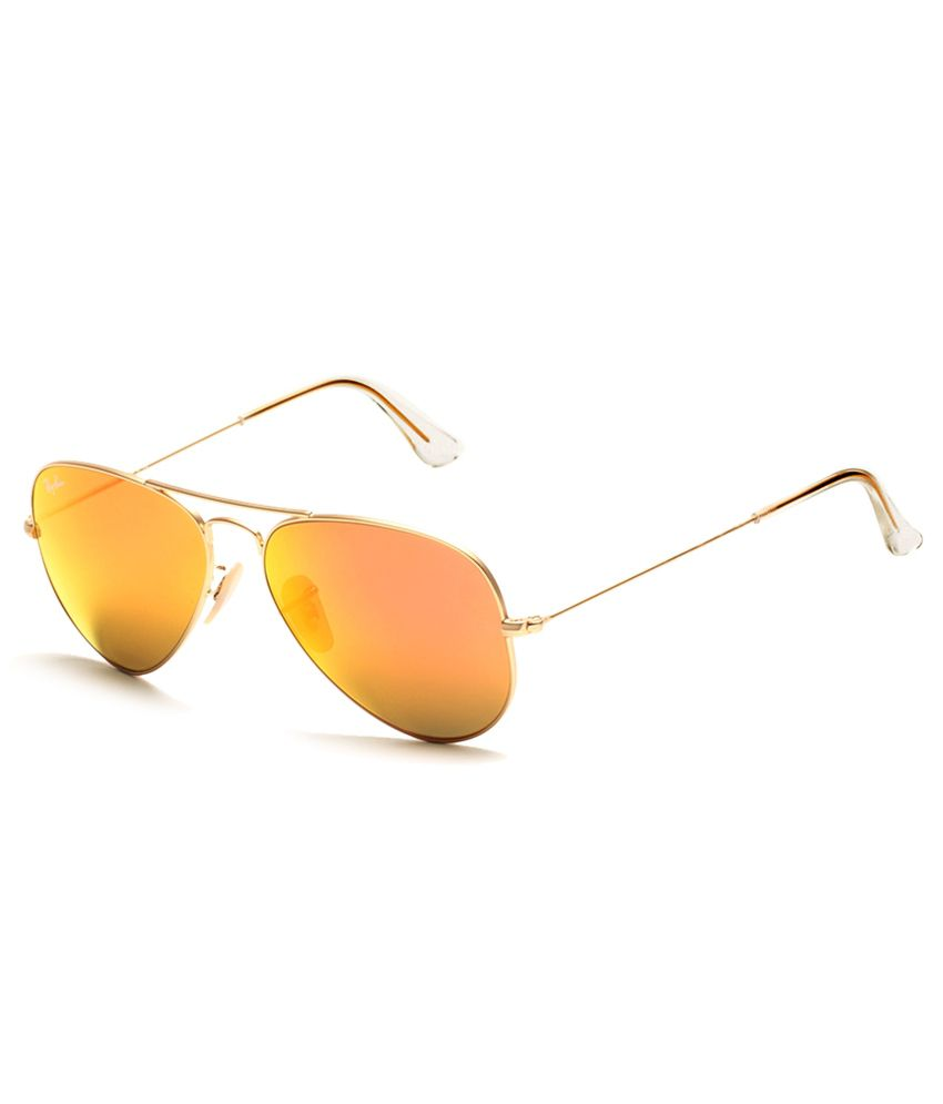 ad45f7248b3 Ray-Ban Orange Aviator Sunglasses (RB3025 112 69 58-14) - Buy Ray-Ban  Orange Aviator Sunglasses (RB3025 112 69 58-14) Online at Low Price -  Snapdeal