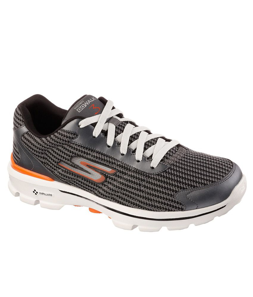 363768cb3cf Skechers Go Walk 3-Fitknit Sport Shoes - Buy Skechers Go Walk 3-Fitknit Sport  Shoes Online at Best Prices in India on Snapdeal