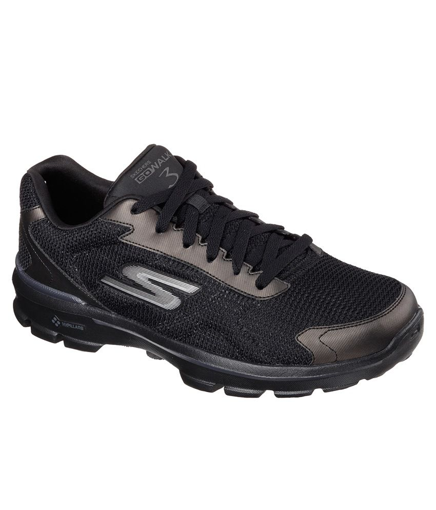 7f19dbfb050 Skechers Go Walk 3 - Fitknit Sport Shoes - Buy Skechers Go Walk 3 - Fitknit Sport  Shoes Online at Best Prices in India on Snapdeal