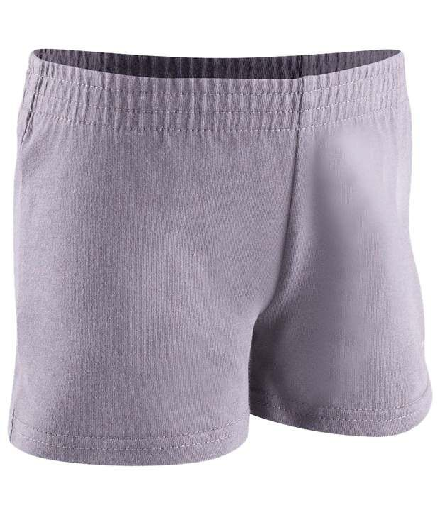 Domyos Dark Gray Basic Fitness Shorts