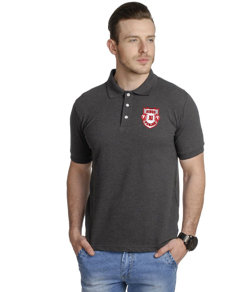 T10 Sports Gray Polo T Shirt