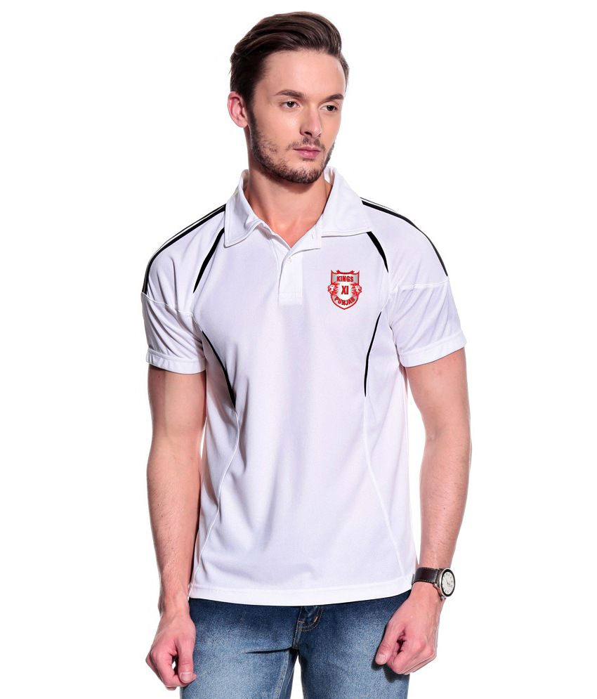 T10 Sports White Pyrus Polo T-Shirt