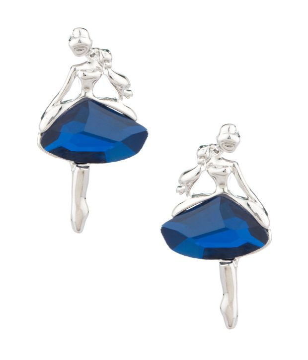 Voylla Elegant Style Diva Hanging Earrings