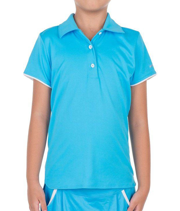 Artengo Blue Polo T Shirt for Girls
