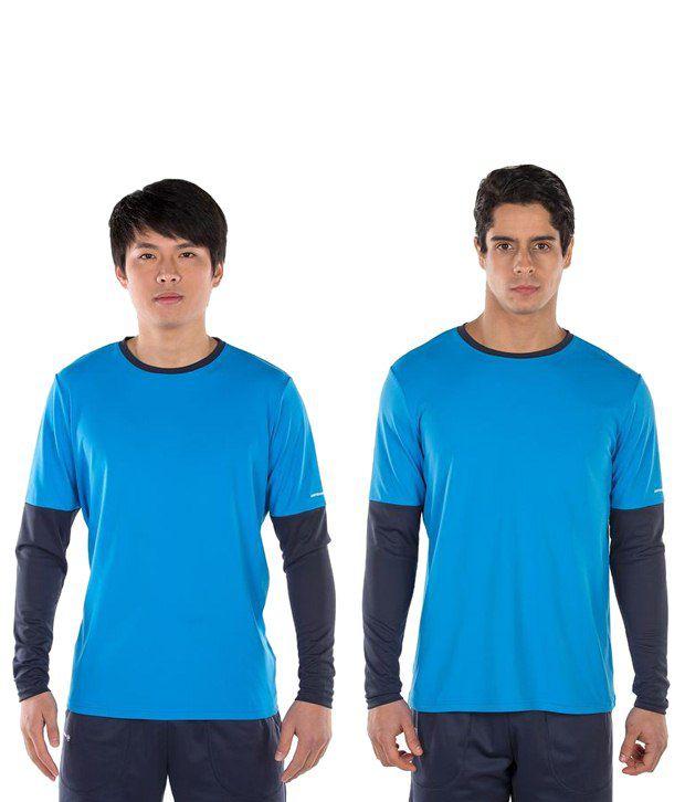 Artengo Light Blue T Shirt for Men