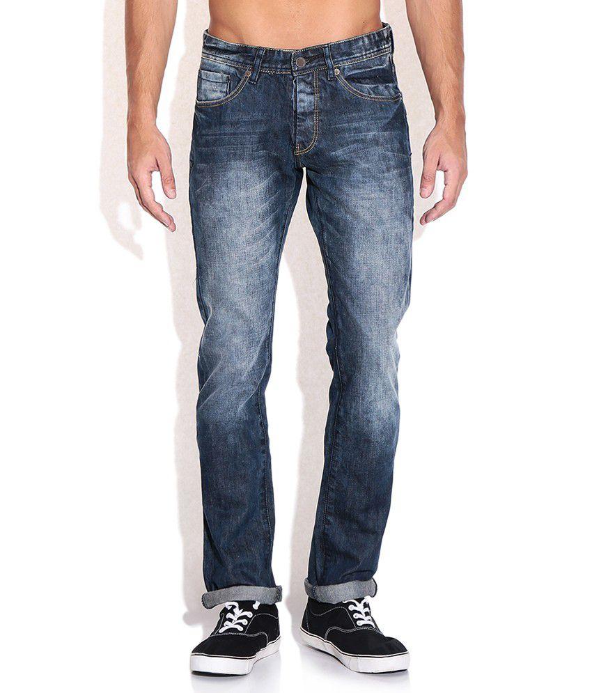 CAT Blue Slim Fit Jeans