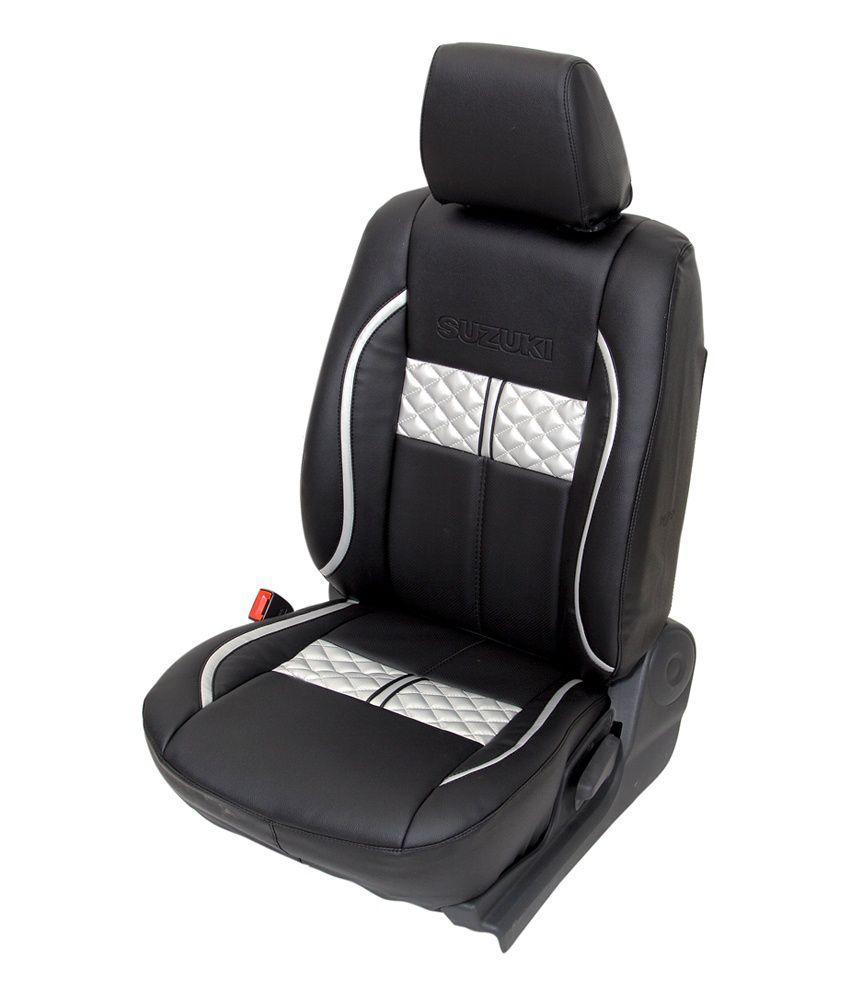 Club Class Ford Figo Car Seat Cover Design For Turbo Black
