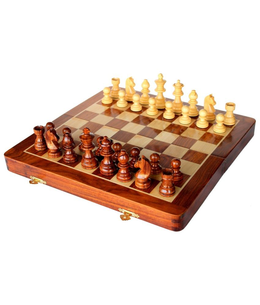 Crafts 39 Man Brown Chess Board Buy Online At Best Price On