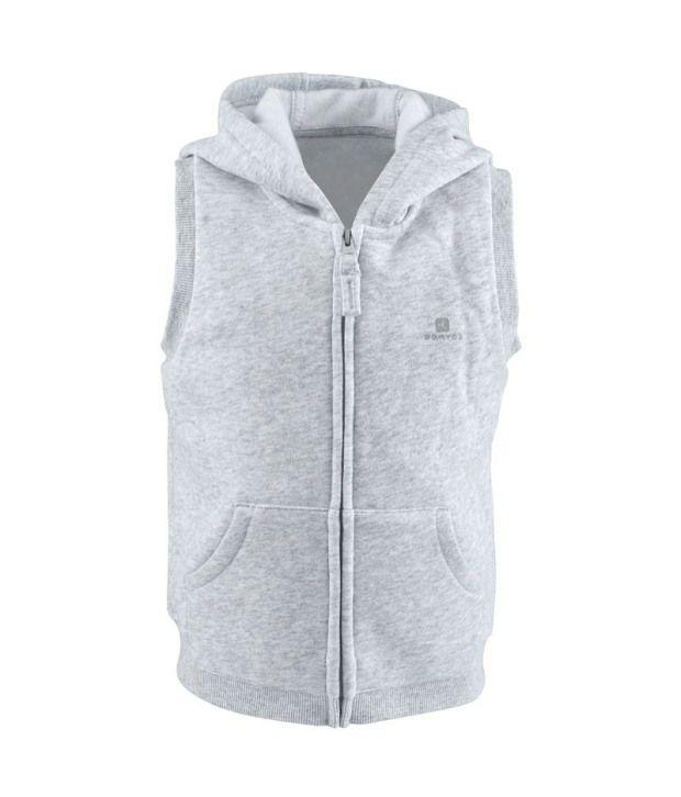 Domyos Sleeveless Baby Jacket (Fitness Apparel)