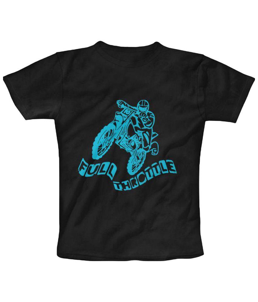 Freecultr Express Full Throttle Graphic Black Short Sleeve T Shirt