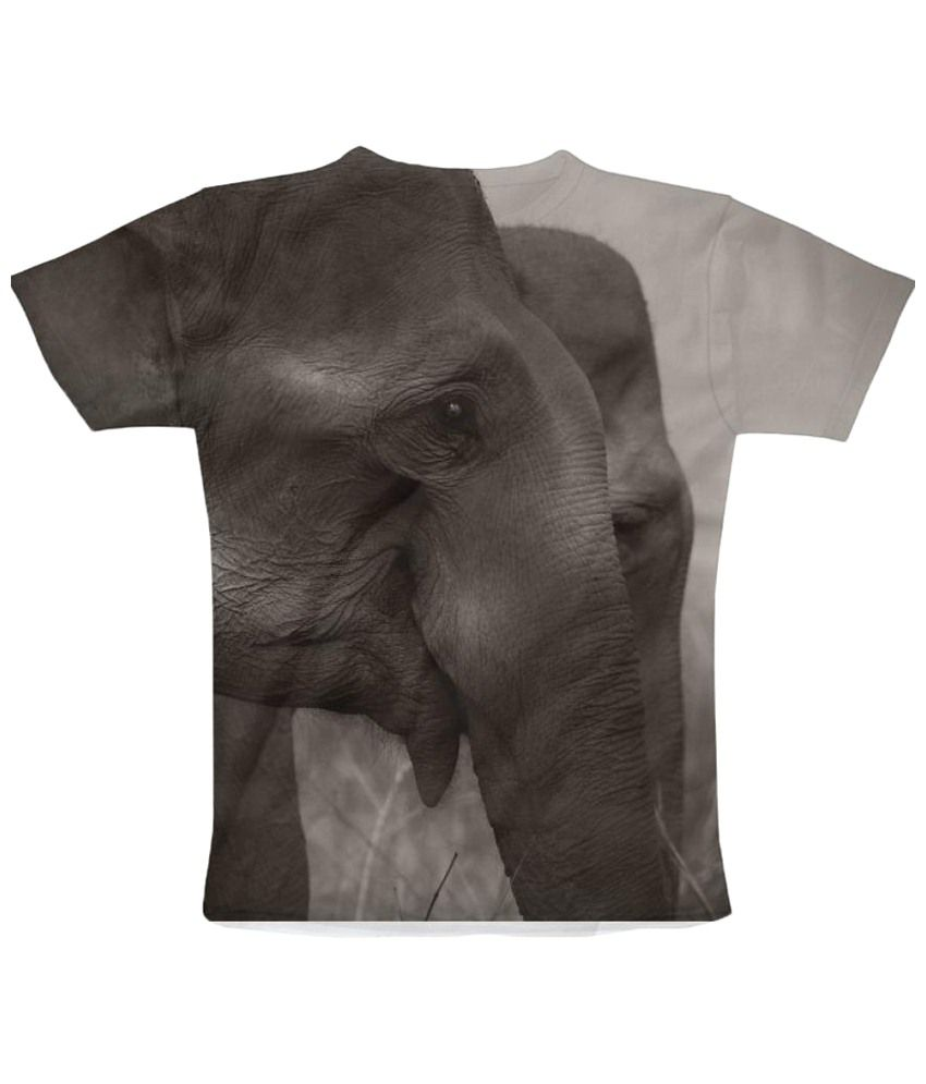Freecultr Express Maximus Graphic Gray & Black Half Sleeve T Shirt