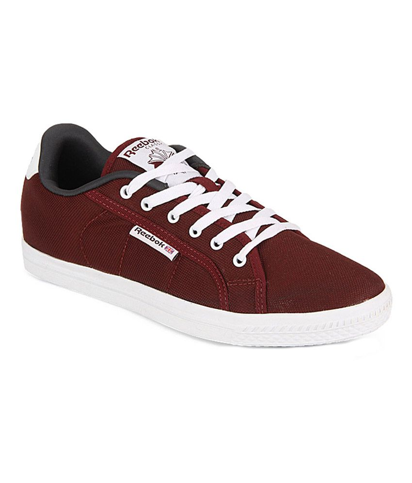 Reebok Maroon Canvas Shoes - Buy Reebok Maroon Canvas Shoes Online at Best  Prices in India on Snapdeal b786862ac3e5
