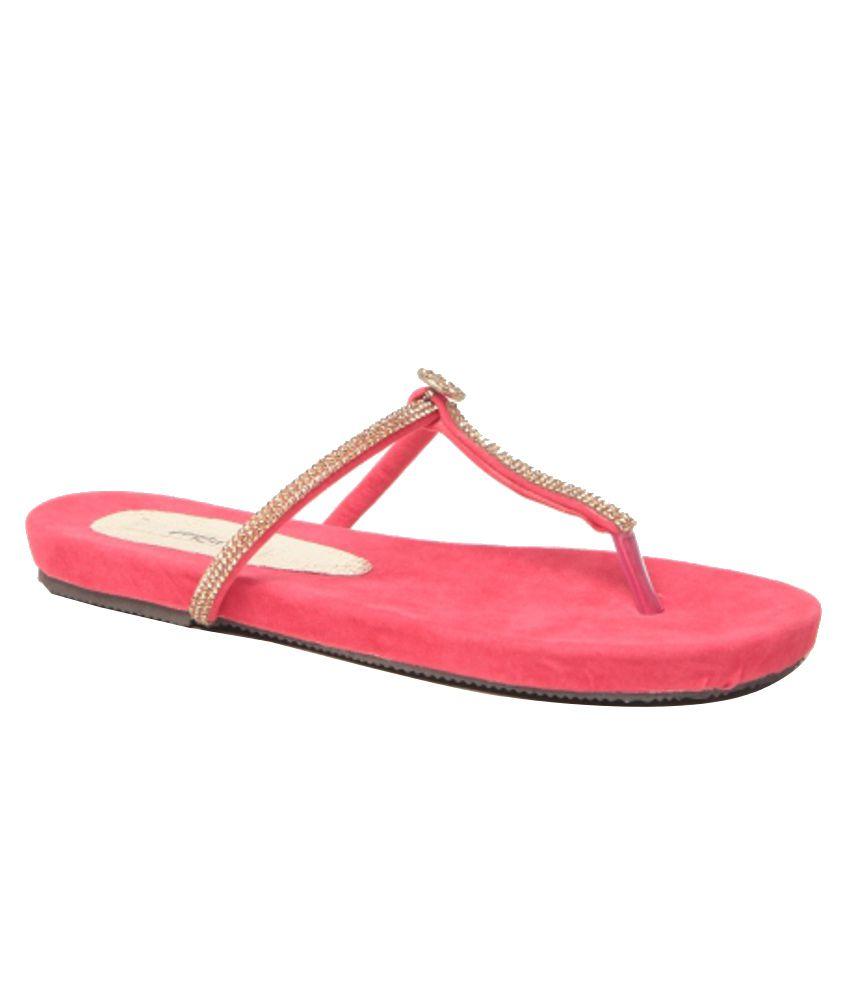 Feel It Gorgeous Pink Flats