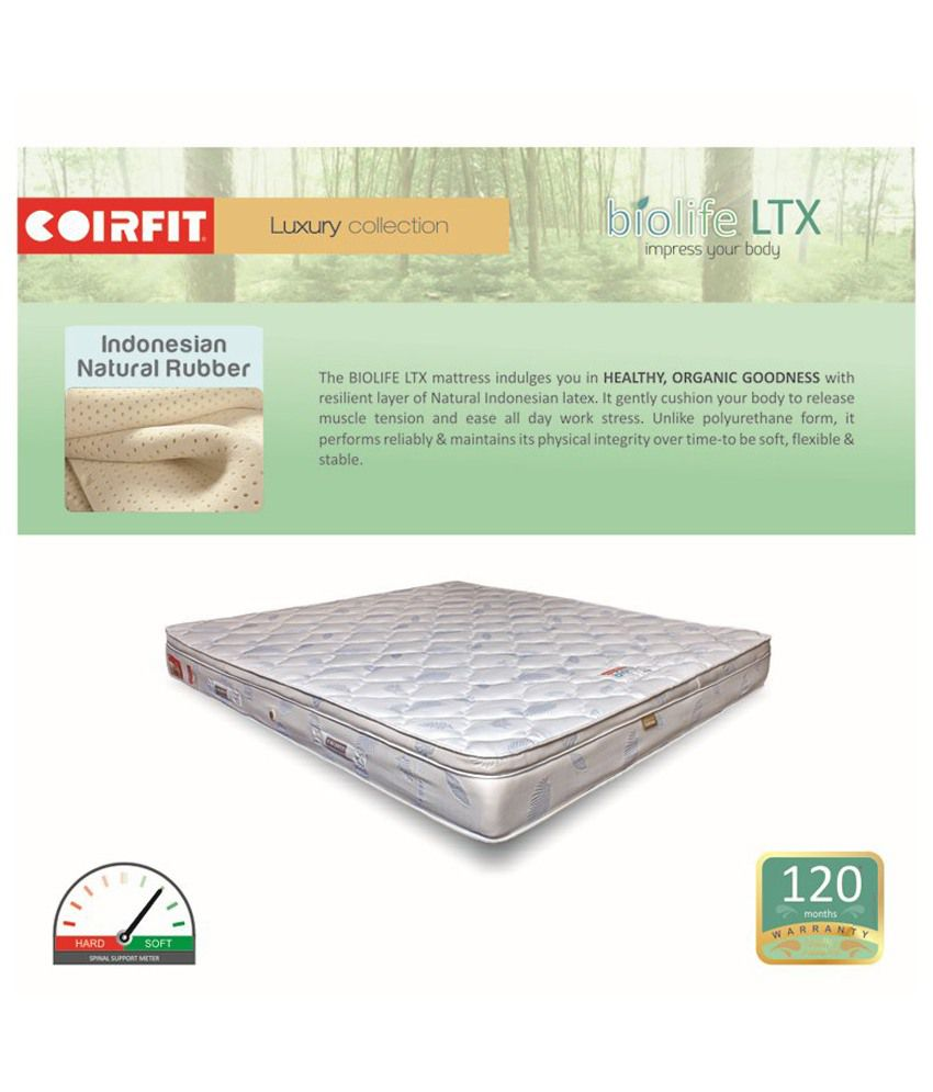 coirfit biolife ltx active 6 inches impress your body buy coirfit