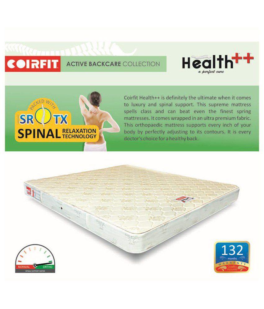 coirfit health plus plus active 6 inches perfect backache cure buy
