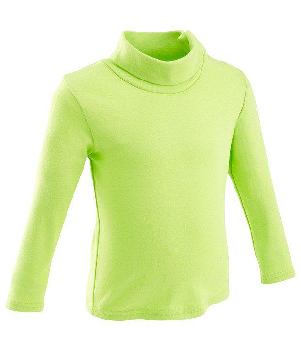 Domyos Green Sweatshirt For Kids