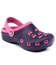 Mickey Icon Pink Clog For Kids