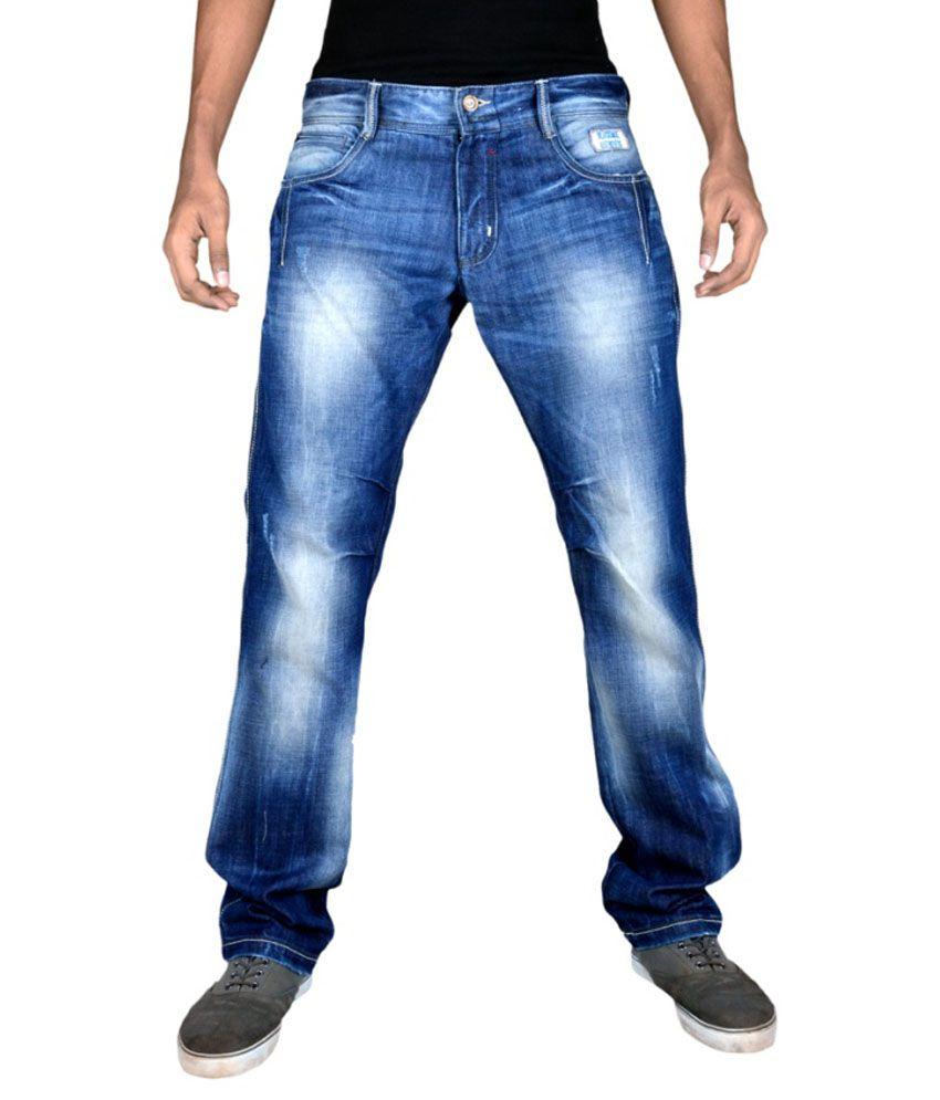 Blacksoul Blue Slim Fit Jeans